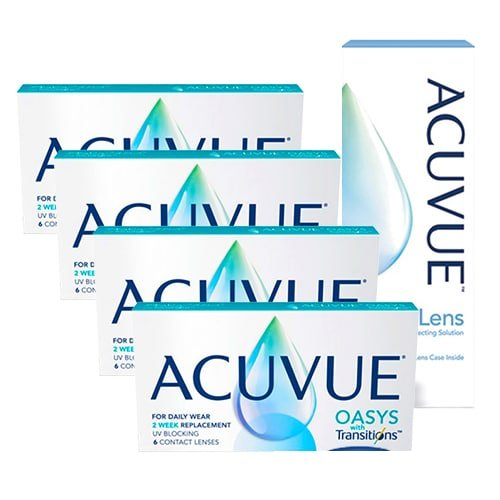 acuvue aosys with transitions set