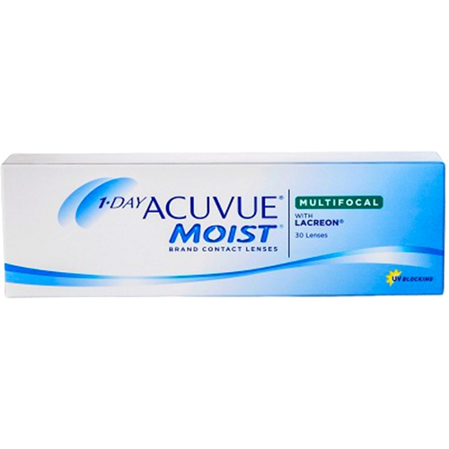 Acuvue Moist Multifocal, multifocal lensler, 1 day acuvue moist multifocal