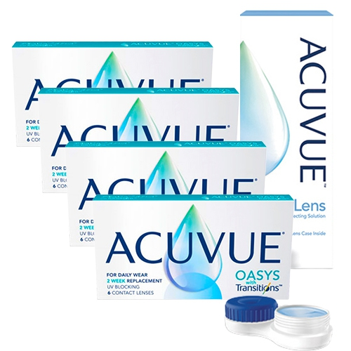 Acuvue Oasys Transitions set 4 kutu