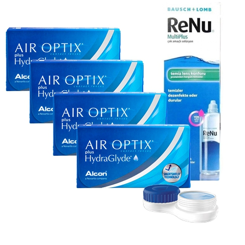 Air optix plus hydraglyde Kampanya