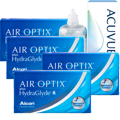 air optix hydraglyde 4 kutu set