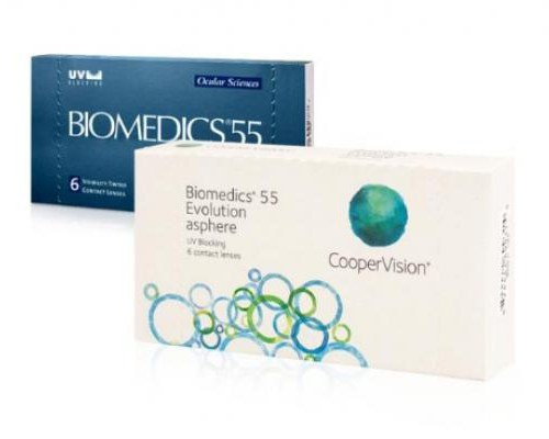 Biomedics 55 Uv Evolution lens fiyatı
