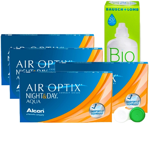 Air Optix Night and Day Aqua Kampanya 4 Kutu