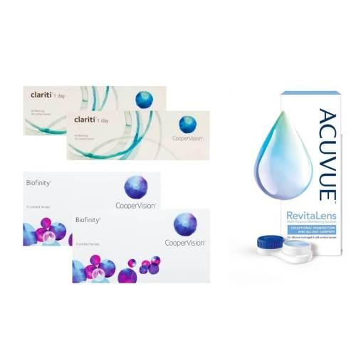 biofinity + Clariti 1 day