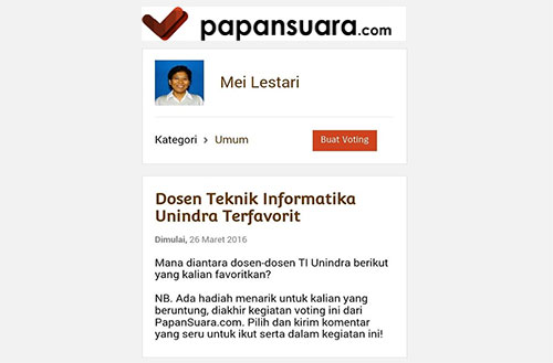 Media Sosial Papansuara.com