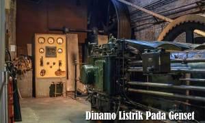 Dinamo Listrik Pada Genset