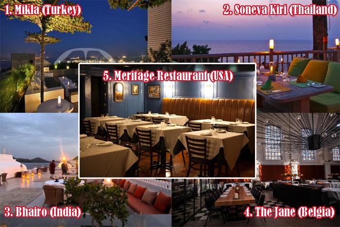 5 Restoran Terbaik di Dunia