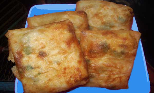 Resep membuat Martabak Telor Mini