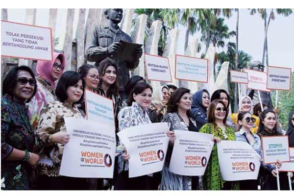 deklarasi anti kekerasan perempuan dan anak