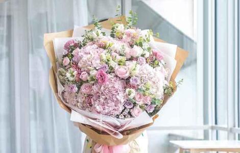 buket bunga besar