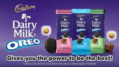 Iklan produk oreo dalam bahasa inggris