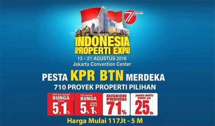 Indonesia Properti Expo (IPEX) 2016