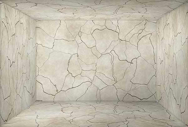 dinding lantai marmer