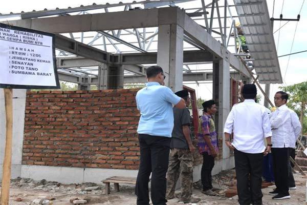 Pembangunan RISHA di Lombok