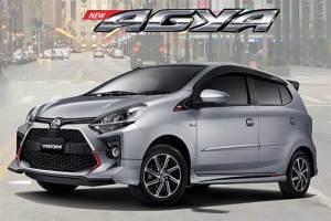 Mobil Toyota Agya Matic