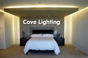 Cove Lighting Di Ruang Tidur