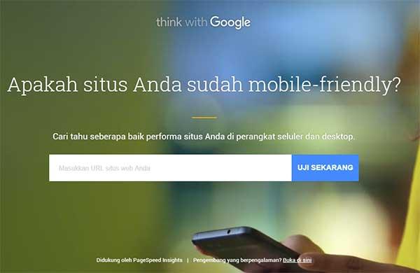 situs Anda sudah mobile-friendly