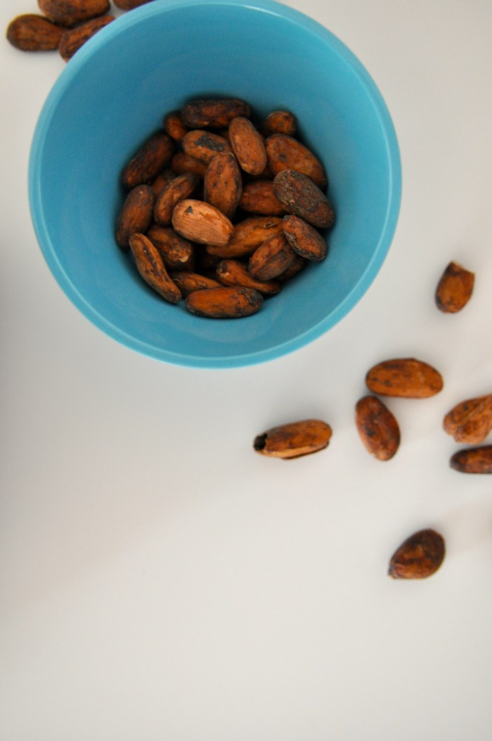 Cacao Beans Ready To Grind