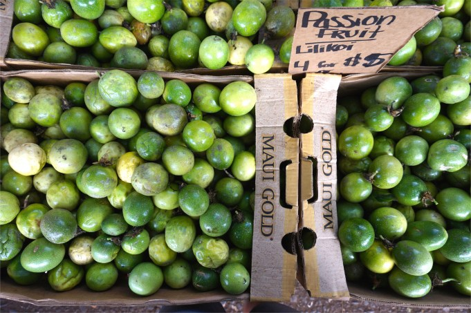 Passion Fruit at Olowalu Market