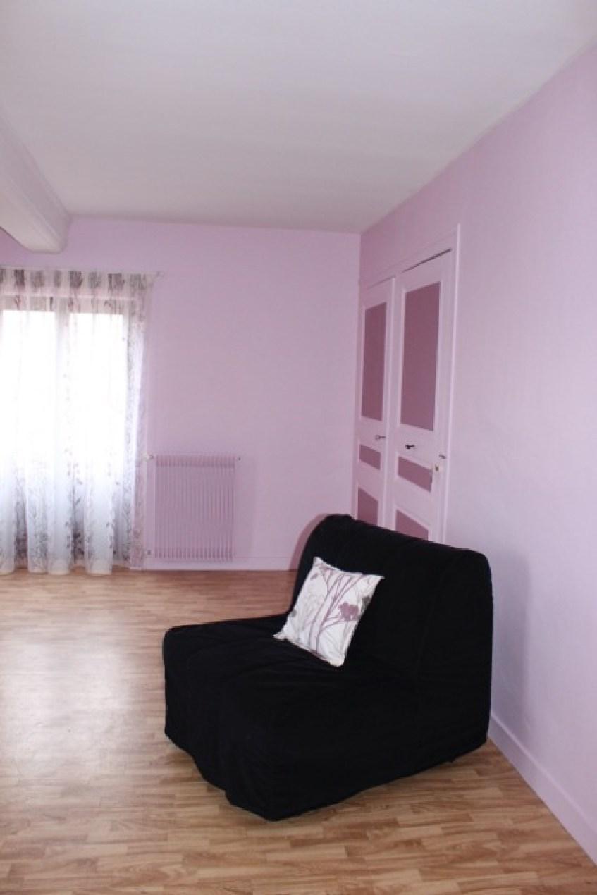 Gîte l'Entre Deux : la chambre Rose