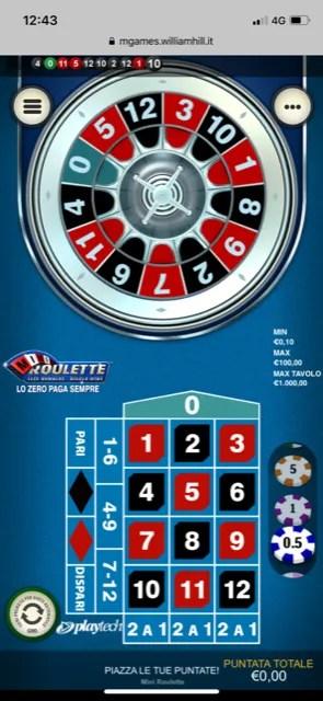 trucchi roulette