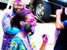 Holi celebration India festival