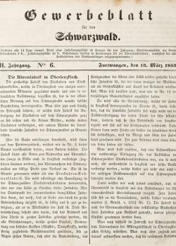 GEWERBEBLATT-FUeR-DEN-SCHWARZWALD-ZWEITER-JAHRGANG-1853-Seite-21