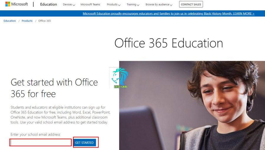 Free Office365 & 5Tb Onedrive School Mail Fill