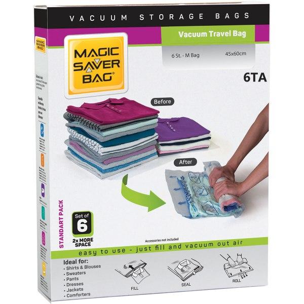 Vacuum-Travel-Tasche-(Satz-Von-6– Standart-Pack)