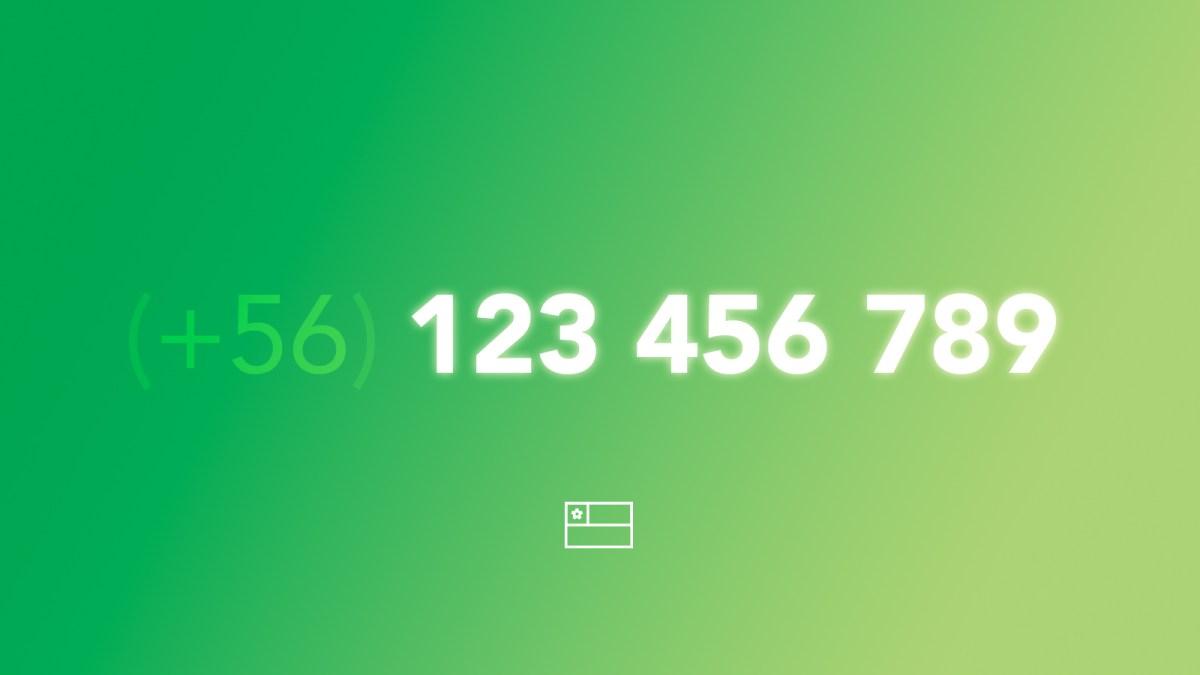 El desastre de los números de teléfono en Chile