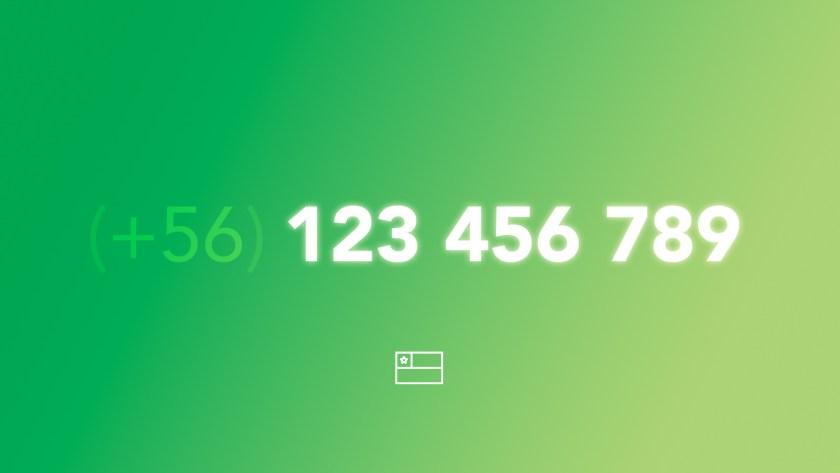 Números de Teléfono en Chile