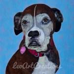 Molly the Dog Leo Art Creations