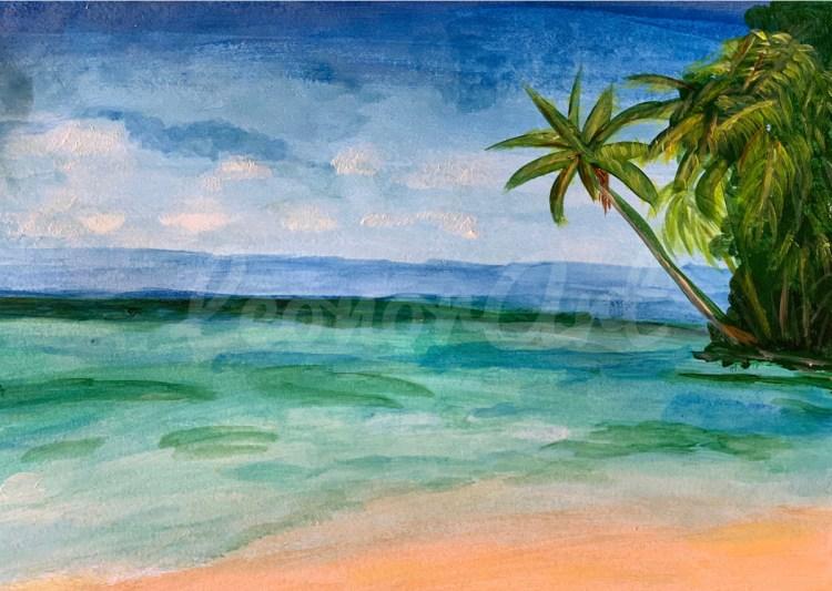 Island Beach Leo Art Creations