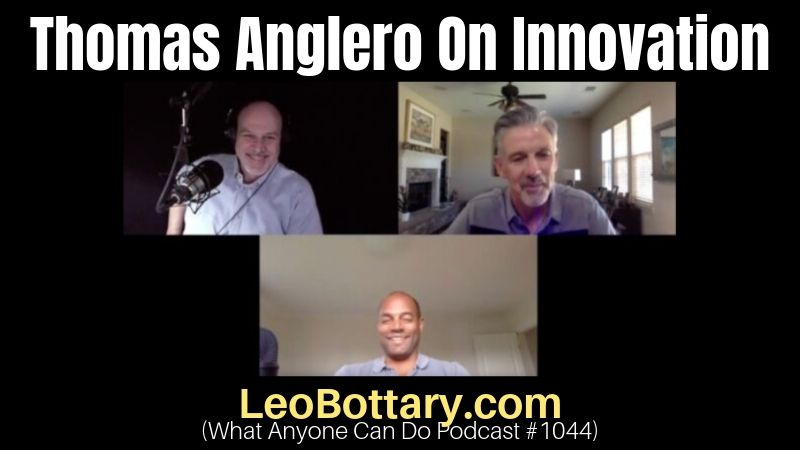 Thomas Anglero On Innovation