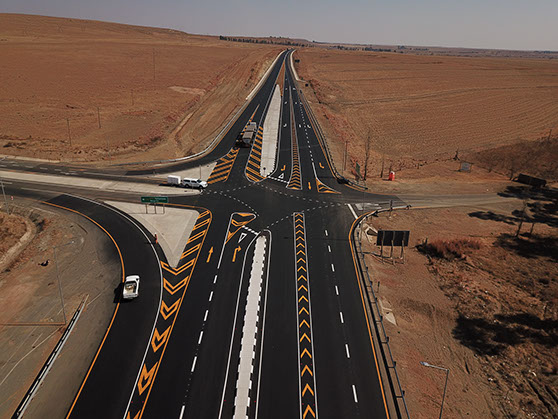 N5 Upgrade - Intersection N5 - R74