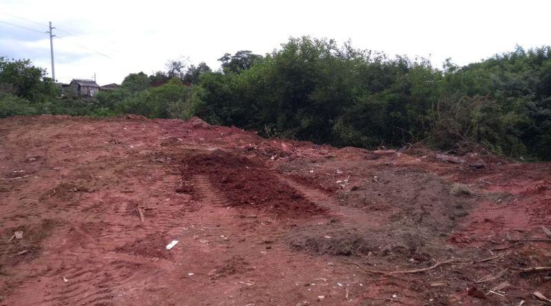Após denúncia, Prefeitura soterra lixão no final da Boqueirão