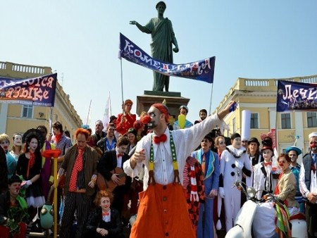 odessa festival and april fools' day