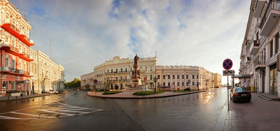 odessa sightseeing tour catherine square