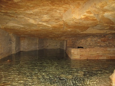 odessa catacombs beautiful view of water