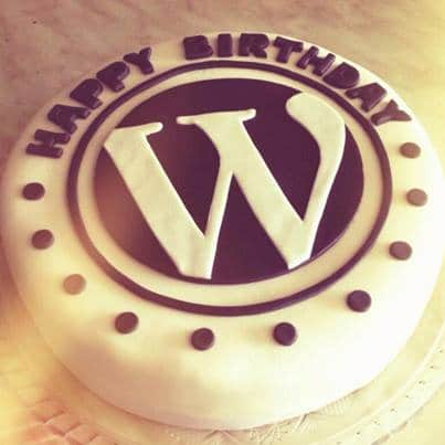 WordPress 12th Birthday