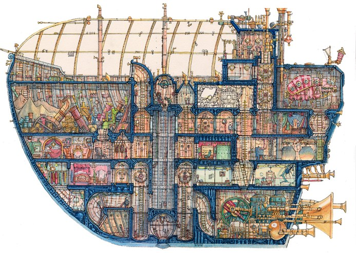 Captain Bilgebell's Treasure Ship WEB - Leo Hartas
