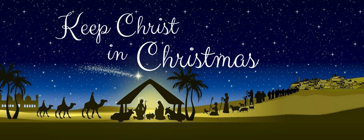Keep Christ in Christmas | Remembering Jesus at Christmastime