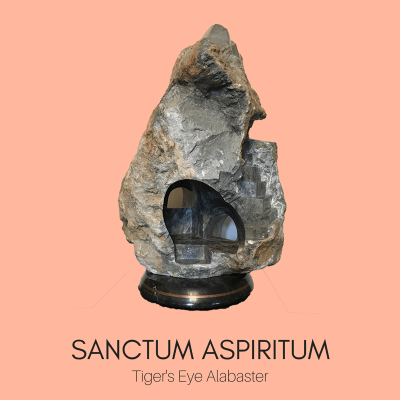 Sacred Spaces Sculpture by Ailene Fields SANCTUM ASPIRITUM