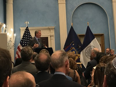 Catholic Charities of NY and UJA Federation Centennial Celebration at Gracie Mansion