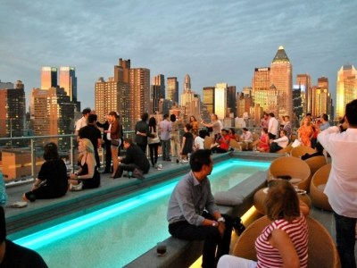 Rooftop Bar NYC Fall 2017