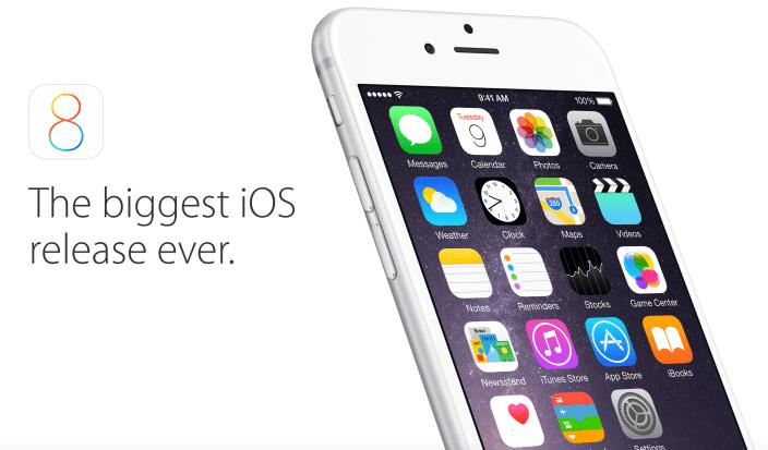 iOS版本市佔率