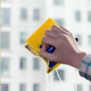 Магнитная щетка для мытья окон Glass Wiper(2 стороны)