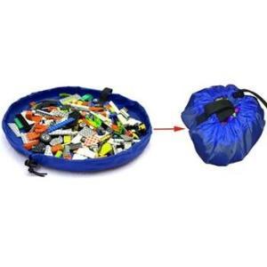 Практичная и удобная сумка-коврик для игрушек 2 в 1