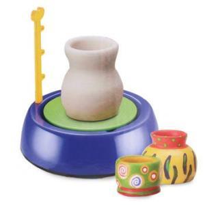 Детский набор для лепки из глины Pottery Wheel