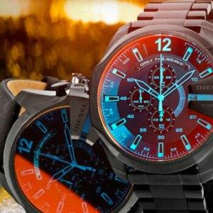 Брутальные мужские часы Diesel 10 bar
